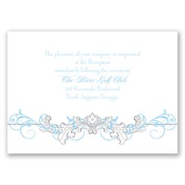 Disney - Fairy Tale Filigree Reception Card