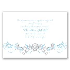 Disney - Fairy Tale Filigree Reception Card
