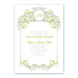 Disney - Fairy Tale Filigree Invitation - Tiana