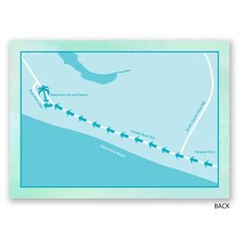 Palm Tree - Map Card