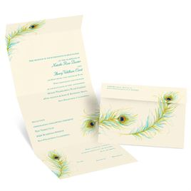 Watercolor Wedding Invitations: 