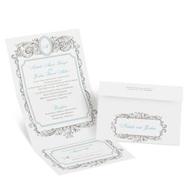 Posh Frame - Seal and Send Invitation