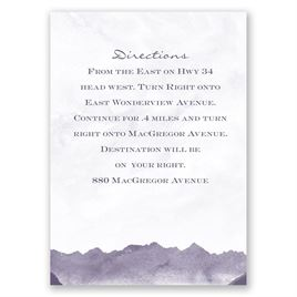 Wedding Map Cards: 