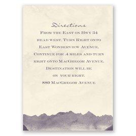 Mountain Mist - Ecru - Map Card