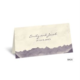 Mountain Mist - Ecru - Place Card