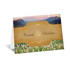 Sierra Splendor - Note Card and Envelope