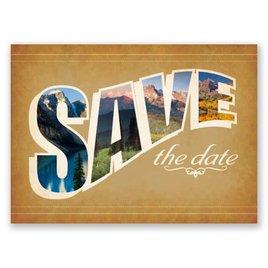 Sierra Splendor - Save the Date Postcard