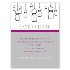 Illumination - Save the Date Card