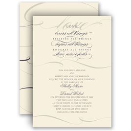 christian wedding invitations | invitations by dawn, Wedding invitations