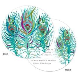 Nouveau Peacock - Invitation