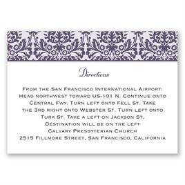 Damask Borders - Map Card