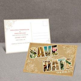 Souvenir - New York - Save the Date Postcard