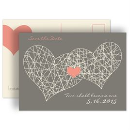 Romantic Save the Dates: 