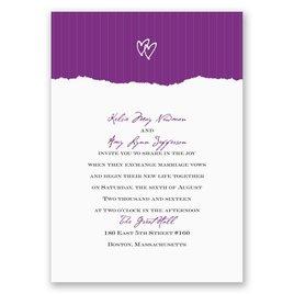 Mrs. and Mrs. - Invitation