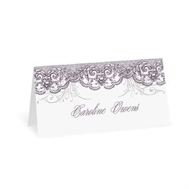 Wedding Place Cards: Lacy Flourishes Place Card