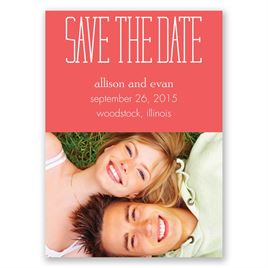 Typecasting - Save the Date Magnet