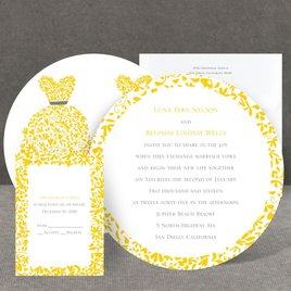 Patterned Dresses - Invitation