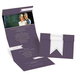 Ribbon Tabs - Seal and Send Invitation