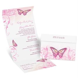 Orange Wedding Invitations: 