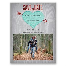 Natural Look - Surf - Save the Date Magnet