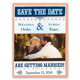 Star Studded - Corabell - Save the Date Magnet