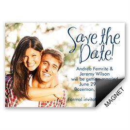 Simple Save the Dates: 