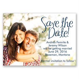 Big Announcement - Save the Date Magnet