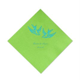 Lime Cocktail Napkin