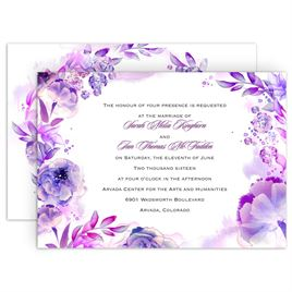Royal Blue Wedding Invitations: 