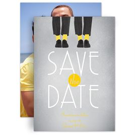 Grey Save The Dates: 