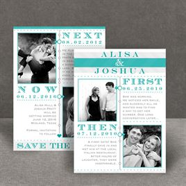 Love Story - Save the Date Card