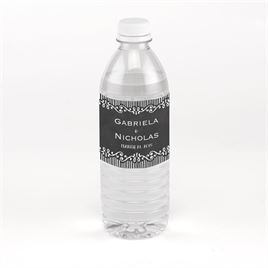 Chalkboard Sketch - Water Bottle Label