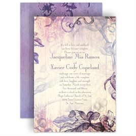 Lavender Purple And Gray Wedding Invitation Source · Lavender Wedding  Invitations Gangcraft Net