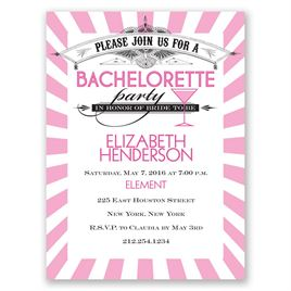 Join the Party - Bachelorette Party Invitation