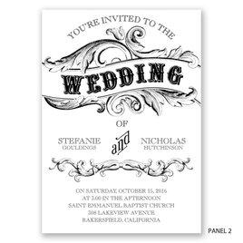 Simply Sweet - Invitation
