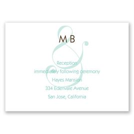 Happy Together - Reception Card