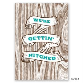 "Gettin"" Hitched - Invitation"