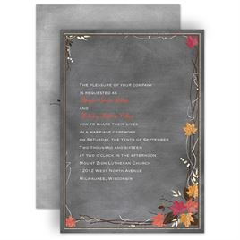 Silver Wedding Invitations: 
