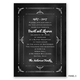We Still Do - Anniversary Invitation