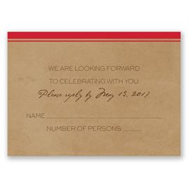 Pine Tree Treasures - Cherry - Response Card