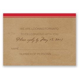 Pine Tree Treasures - Cherry - Response Card