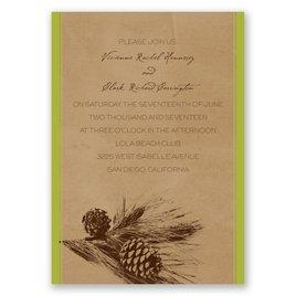 Pine Tree Treasures - Granny Apple - Invitation