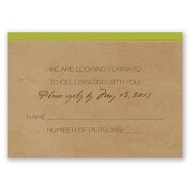 Pine Tree Treasures - Granny Apple - Response Card