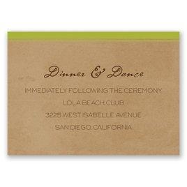 Pine Tree Treasures - Granny Apple - Reception Card