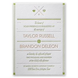 Modern Wedding Invitations: 