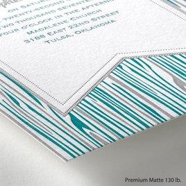 Rustic Woodgrain - Letterpress Invitation