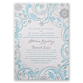 Tiffany Blue Wedding Invitations Invitations By Dawn