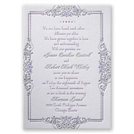 luxury wedding invitations true beauty letterpress invitation - Luxury Wedding Invitations