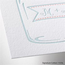 So Sweet - Letterpress Invitation