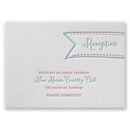 So Sweet - Letterpress Reception Card